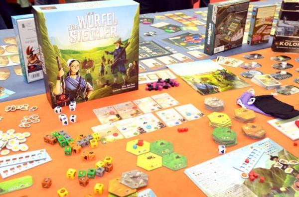 Foto von der Spiel '18: Die Würfel Siedler