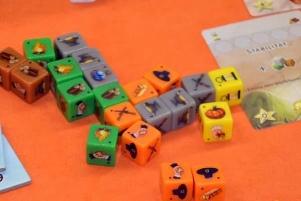 Foto von der Spiel '18: Die Würfel Siedler - Details