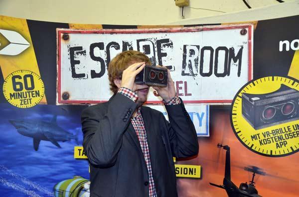 Foto von der Spiel '17: Escape Room - Das Spiel: Virtual Reality