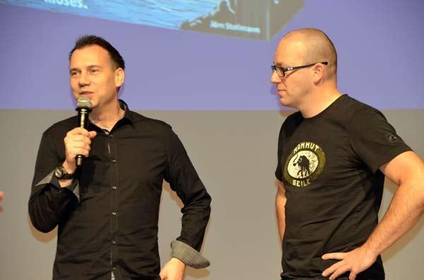 Foto von der Spiel '17: Sebastian Fitzek und Marco Teubner