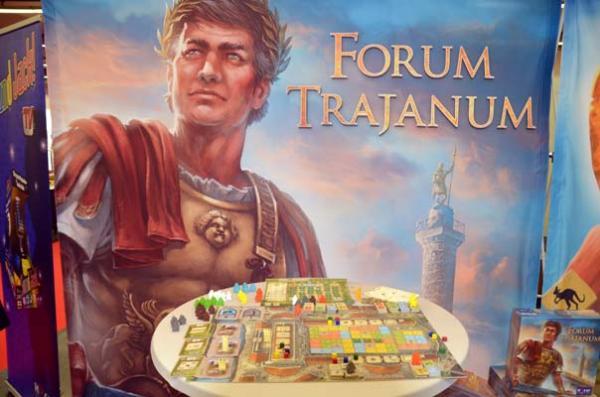 Foto von der Spiel '18: Forum Trajanum Präsentation