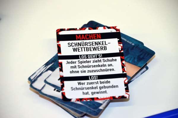 Foto von der Spiel '17: Fummelei Spielkarte