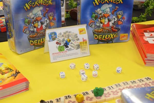 Foto von der Spiel '18: Heckmeck Deluxe