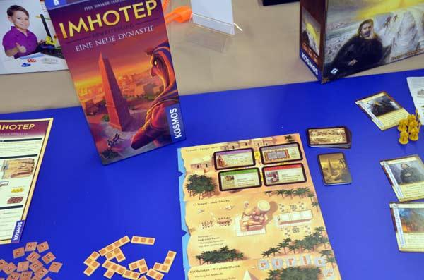 Foto von der Spiel '17: Imhotep - Eine neue Dynastie