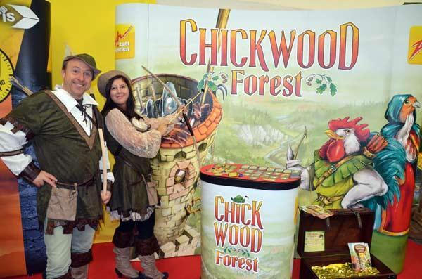 Foto von der Spiel '17: Präsentation Chickwood Forest
