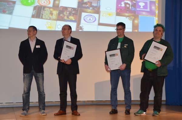 Foto von der Spiel '17: Nominierte beim Spielepreis innoSPIEL