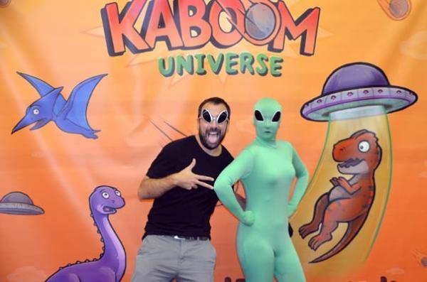 Foto von der Spiel '18: Kaboom Universe - Präsentation