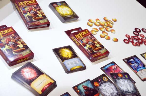 Foto von der Spiel '18: Keyforge