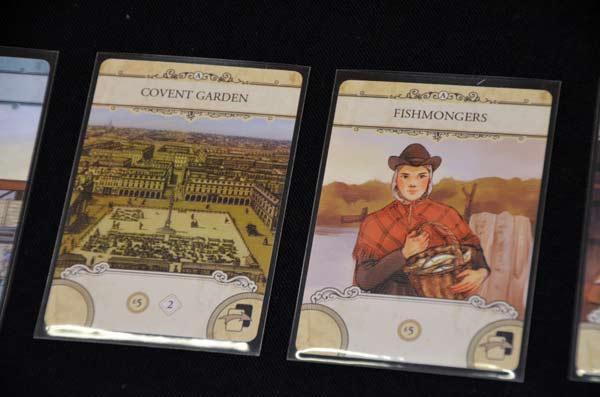 Foto von der Spiel '17: London - Karten