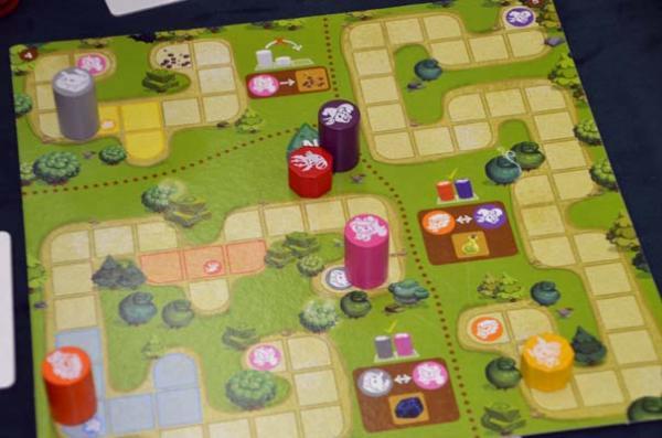 Foto von der Spiel '18: Magic Maze Kids