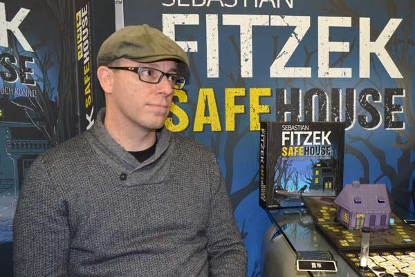 Foto von der Spiel '17: Marco Teubner, Autor von Safehouse