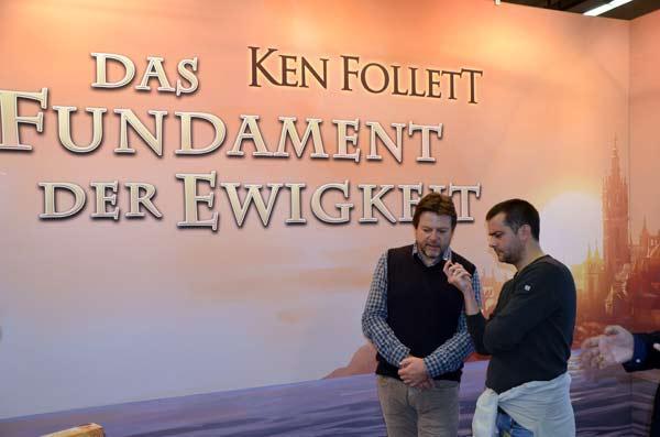 Foto von der Spiel '17: Michael Rieneck im Interview