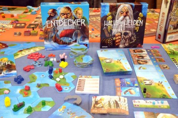 Foto von der Spiel '18: Räuber der Nordsee - Erweiterungen