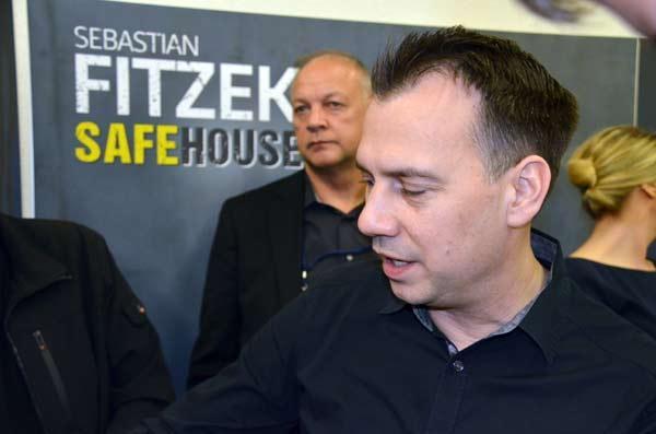Foto von der Spiel '17: Krimiautor Sebastian Fitzek