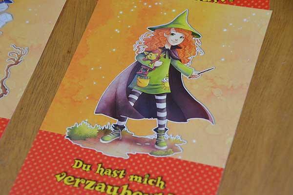 Foto von der Spiel '16: Zauberei hoch drei Spielkarte