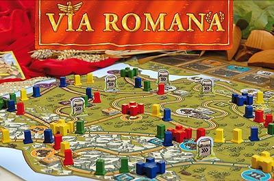 Via Romana - Spielsituation von Goldsieber