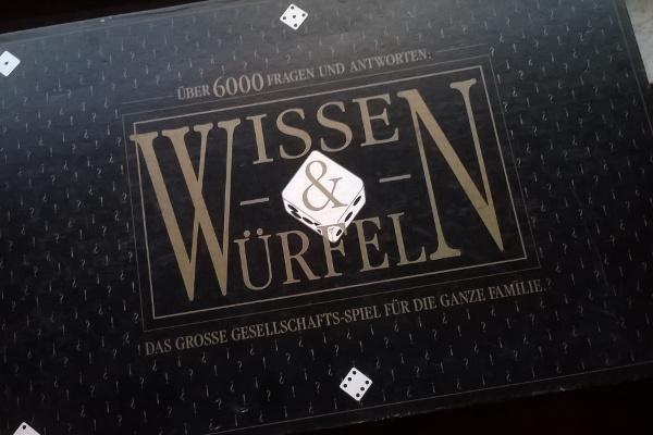Gesellschaftsspiel Wissen & Würfeln - Foto von Steffi Münzer