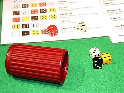 Yahtzee Würfel-Poker von