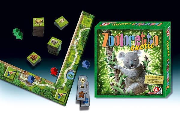 Zooloretto exotic von Abacusspiele