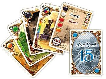 Zug um Zug Kartenspiel von Days Of Wonder