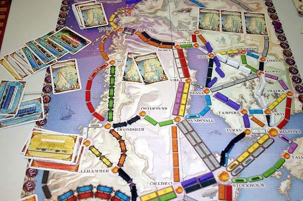 Zug um Zug - Skandinavien von