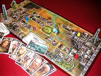 Der Herr der Ringe: Die Zwei Türme (Brettspiel) von Reich der Spiele