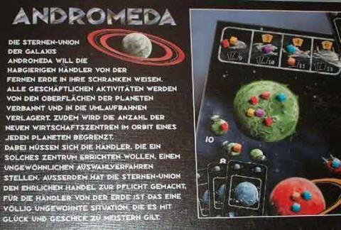 Andromeda von Abacusspiele - Grünspan - Anleitung - Foto von Roland G. Hülsmann