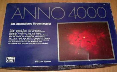 Gesellschaftsspiel Anno 4000 von Parker - Schachtel - Foto von Roland G. Hülsmann