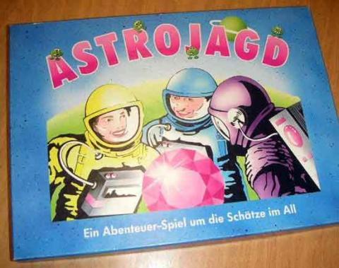 Gesellschaftsspiel Astrojagd - Schachtel - Foto von Roland G. Hülsmann