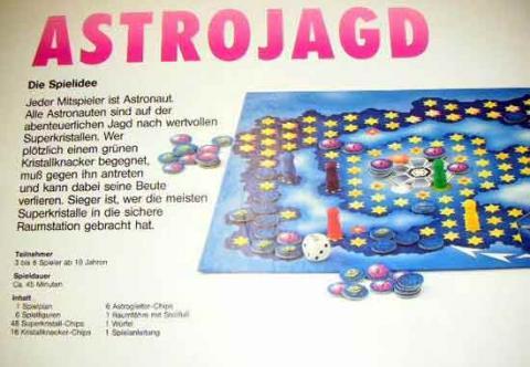 Gesellschaftsspiel Astrojagd - Anleitung - Foto von Roland G. Hülsmann
