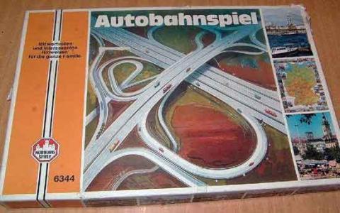 Autobahnspiel von Nürburgspiele - Schachtel - Foto von Roland G. Hülsmann