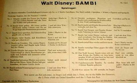 Walt Disney Bambi von Schmidt Spiele - Anleitung - Foto von Roland G. Hülsmann