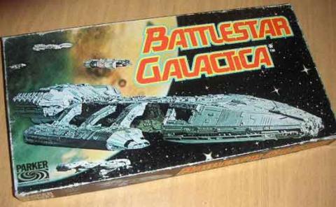 Gesellschaftsspiel Battlestar Galactica von Parker - Schachtel - Foto von Roland G. Hülsmann