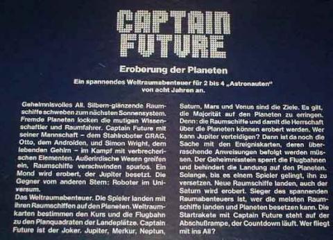 Gesellschaftsspiel Captain Future von Ass - Anleitung - Foto von Roland G. Hülsmann