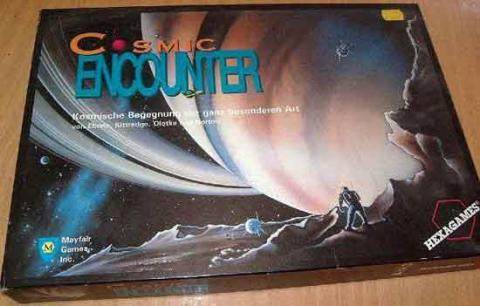 Gesellschaftsspiel Cosmic Encounter  - Schachtel - Foto von Roland G. Hülsmann