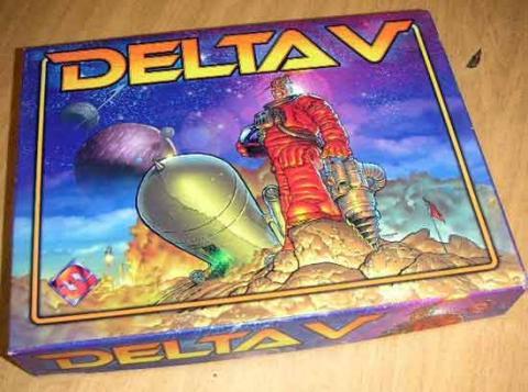 Gesellschaftsspiel Delta V von Fantasy Flight Games - Schachtel - Foto von Roland G. Hülsmann