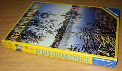 Deutschlandreise - 1974 - von Ravensburger - Schachtel - Foto von Roland G. Hülsmann