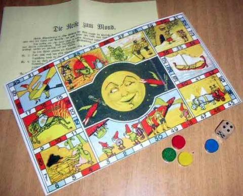 Gesellschaftsspiel Die Reise zum Mond - Foto von Roland G. Hülsmann