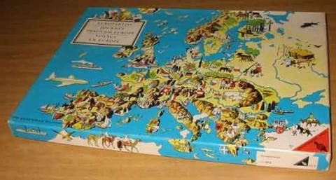Europareise 1960er-Jahre von Ravensburger - Schachtel - Foto von Roland G. Hülsmann