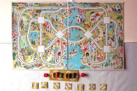 Spielplanseite 2 - Fahr zu, kleine Lok - Foto von Wolfgang Immler