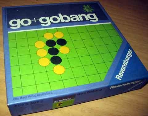 Go und Gobang von Ravensburger - Schachtel -  Foto Roland G. Hülsmann
