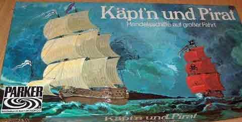 Käpt'n und Pirat von Parker - Schachtel - Foto von Roland G. Hülsmann