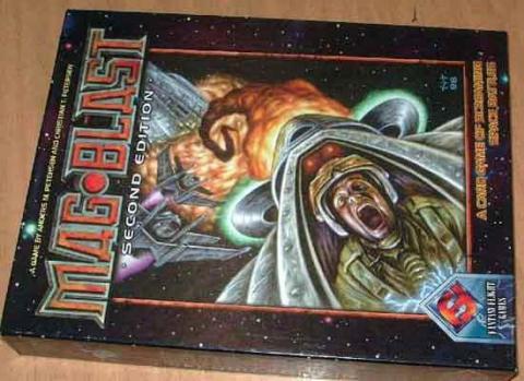 Mag·Blast von Fantasy Flight Games - Schachtel - Foto von Roland G. Hülsmann