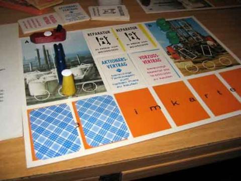 Petrol von Klee - Schachtel - Spielmaterial - Foto von Roland G. Hülsmann