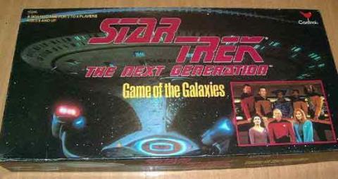 Schachtel Star Trek The Next Generation - Game Of Galxies - Foto von Roland G. Hülsmann