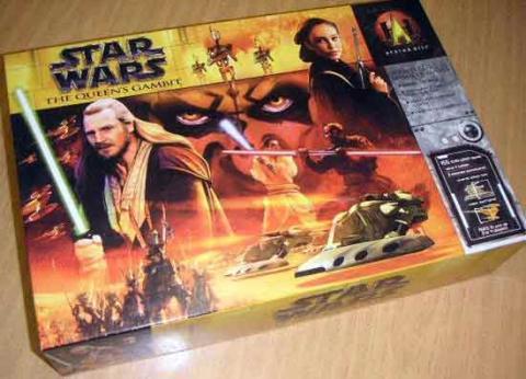 Star Wars: The Queen's Gambit - Schachtel - Foto von Roland G. Hülsmann