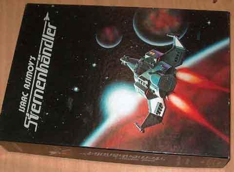 Isaac Asimov's Sternenhändler - Schachtel - Foto von Roland G. Hülsmann