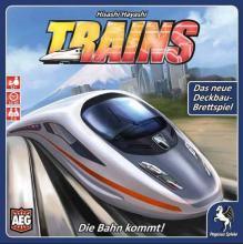 Spieleschachtel von Trains - Foto AEG - Pegasus Spiele