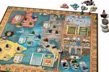 Brettspiel Dynasties - Spielaufbau - Foto von Hans im Glück
