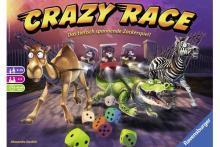 Familienspiel Crazy Race - Foto von Ravensburger